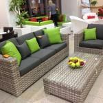 Фото 23: Мебель из искусственного ротанга