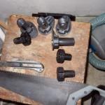 Фото 15: Ножки для регулирвоания газовой плиты