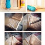 Фото 20: Декор деревянной рамочки с помощью бечевки или пряжи