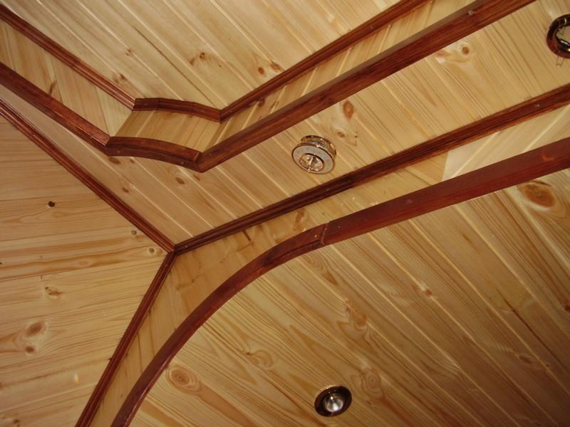 Внутренняя отделка потолков