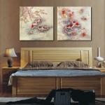 Фото 26: Картины в китайском стиле в интерьере спальни