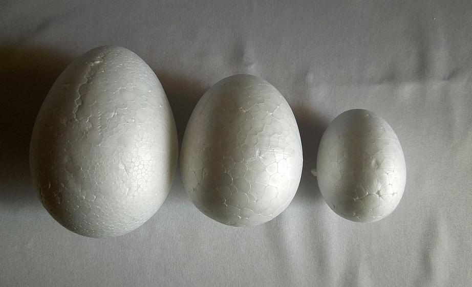 Пенопластовые яйца