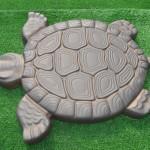 Фото 28: Тротуарная плитка в виде черепахи