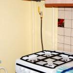 Фото 19: Подключенная газовая плита