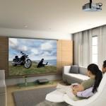 Потолочный проектор для просмотра фильмов