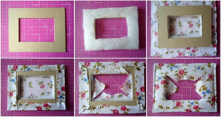 Рамка из картона объемная