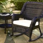 Фото 20: Ротанговое кресло в стиле венге