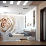 Фото 4: Дизайн спальни пол