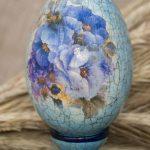 Фото 52: Декупаж яиц с эффектом кракелюр
