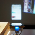 Сенсорный проектор для смартфонов