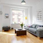 Фото 10: Скандинавский стиль в интерьере гостиной