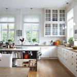 Фото 4: Скандинавский стиль в интерьере кухни