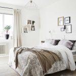 Фото 7: Скандинавский стиль в интерьере спальни