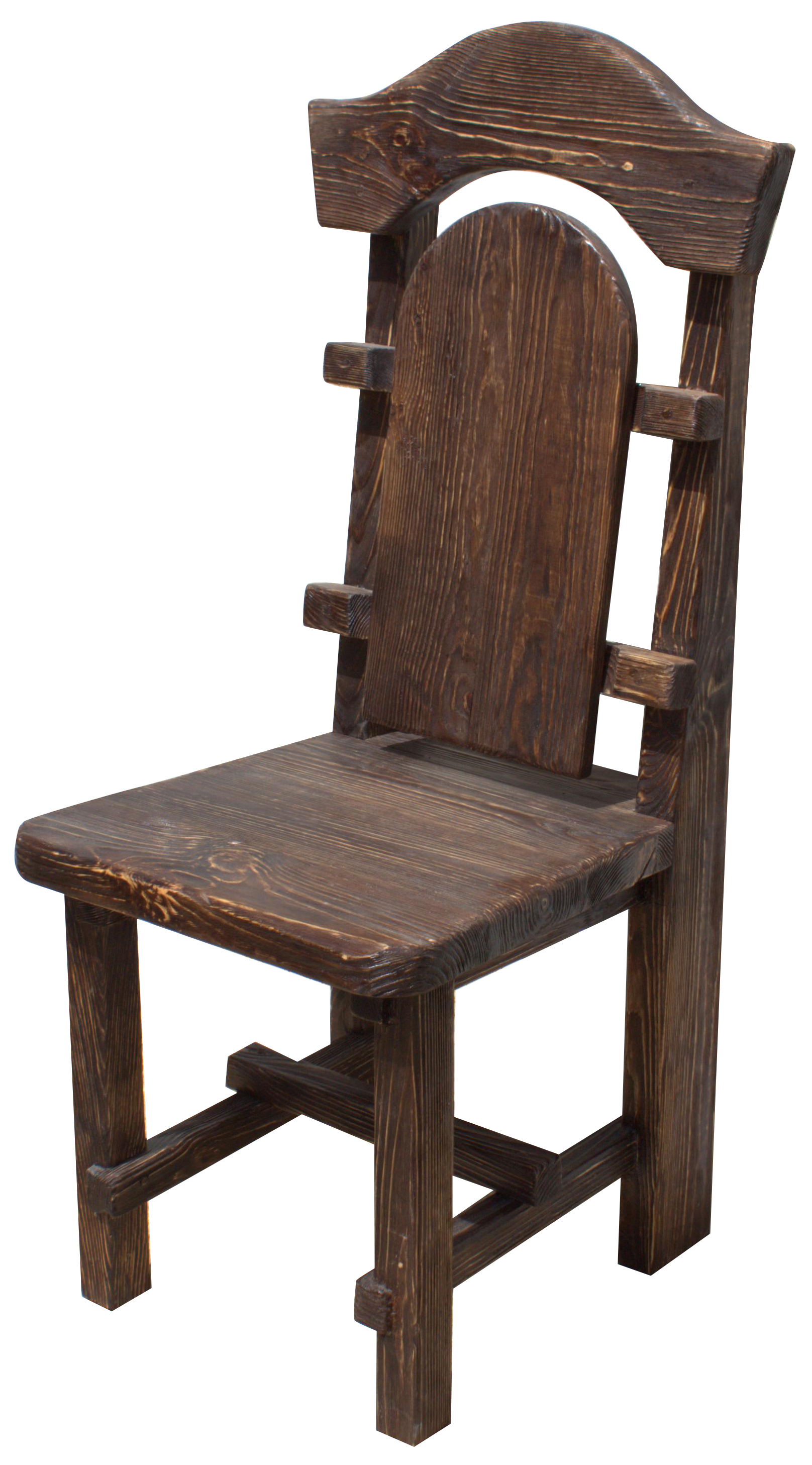 Деревянные стул под старину своими руками 13