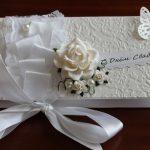 Фото 32: Свадебный конверт в технике скрапбукинг