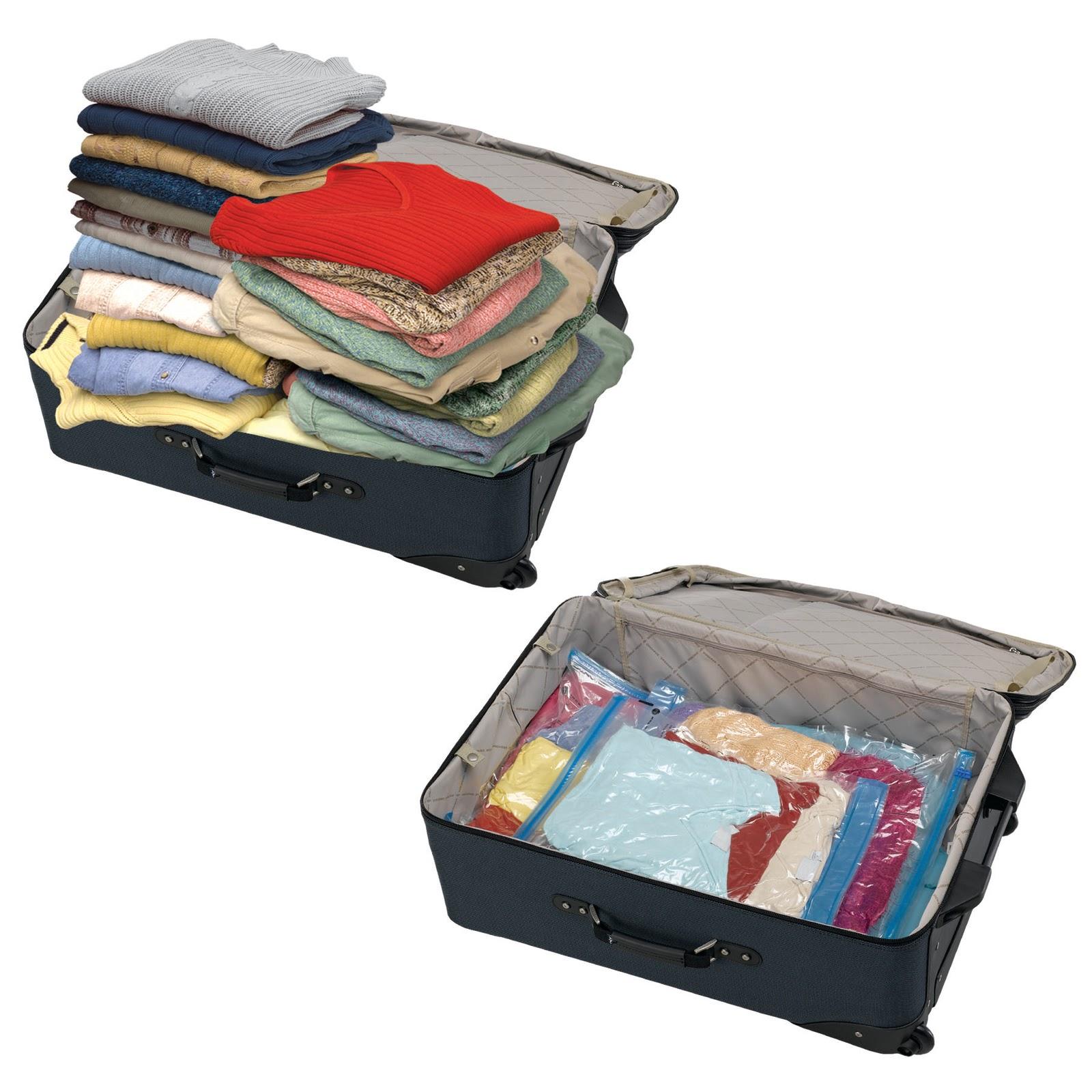 Пакет вакуумный для чемодана