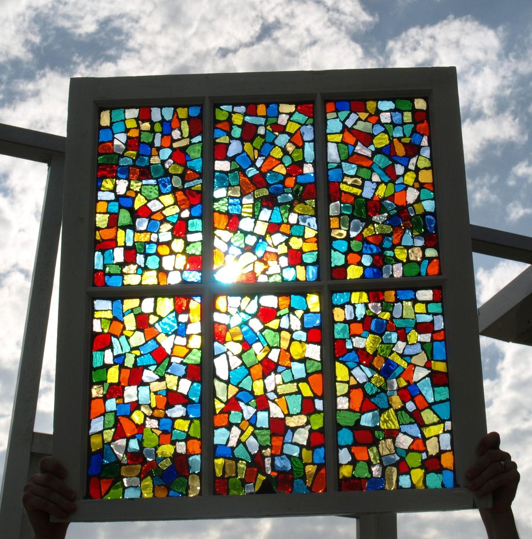 Как сделать цветное стекло фото 319