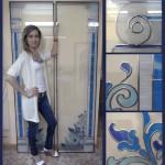 Фото 7: Витраж на стекле
