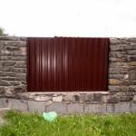 Фото 11: Забор из профлиста