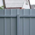 Фото 8: Забор из профлиста