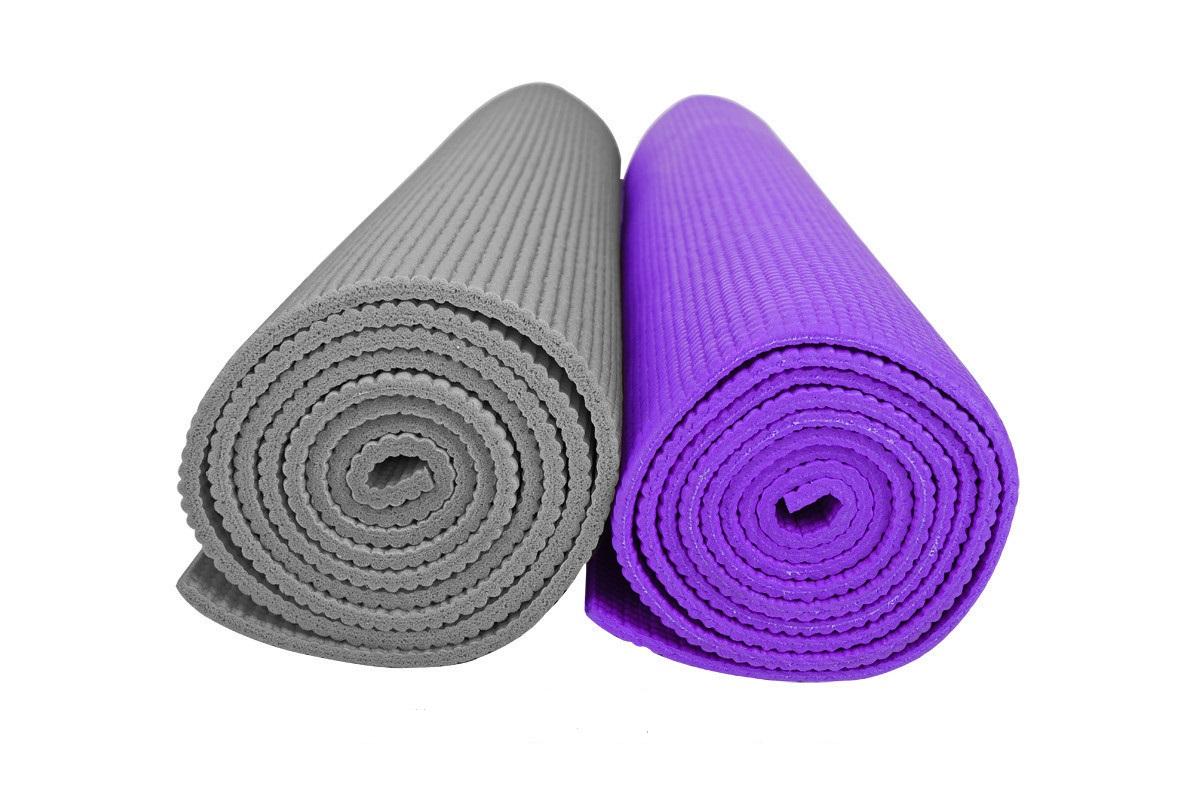 2 коврика для фитнеса
