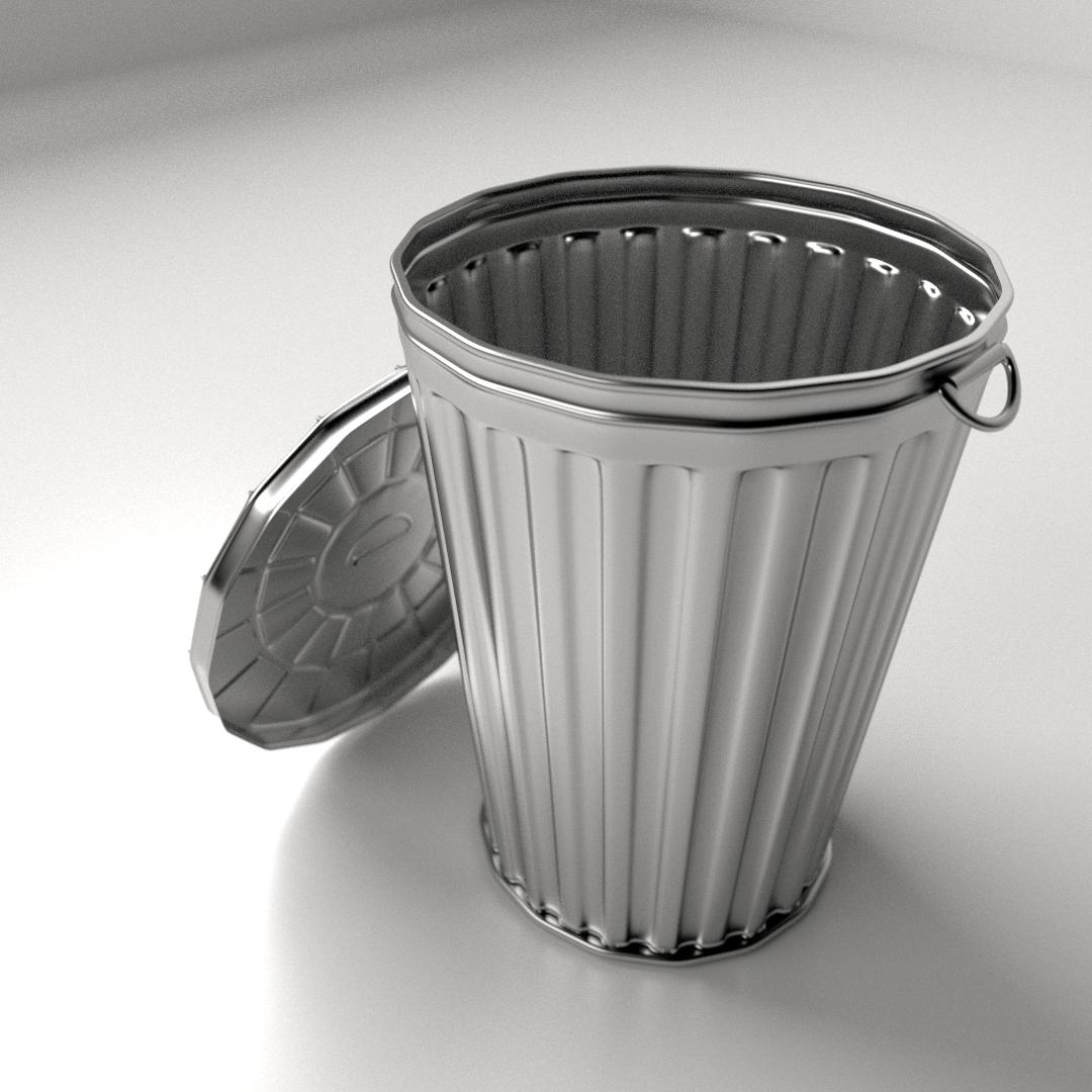 Ведро мусорное