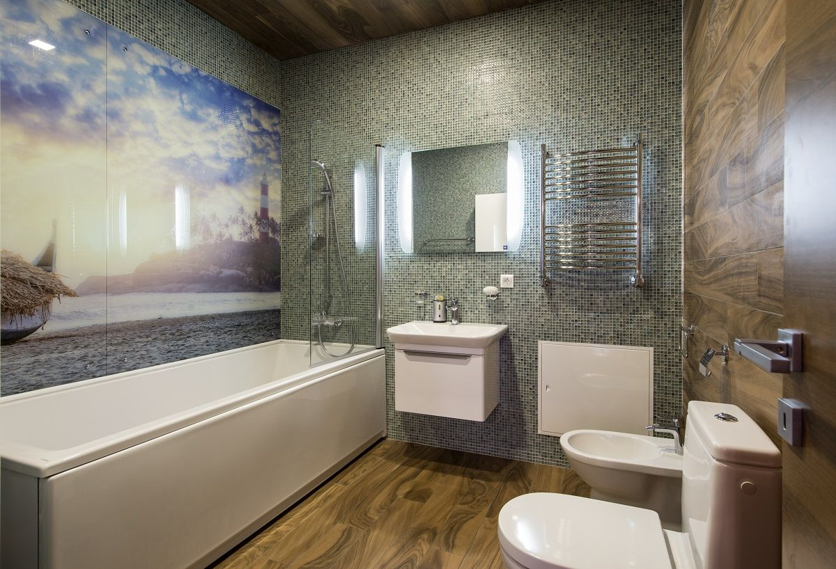 Настенные панели для ванной