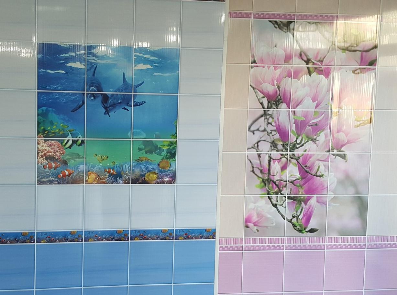 Пластиковые панели с рисунком