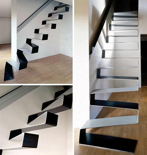 необычные современные лестницы1