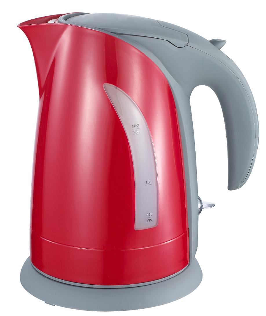 Чайник красный