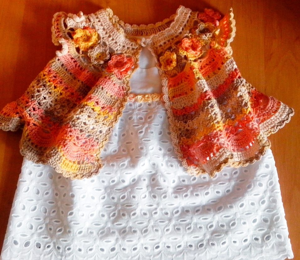 Розочки на платье