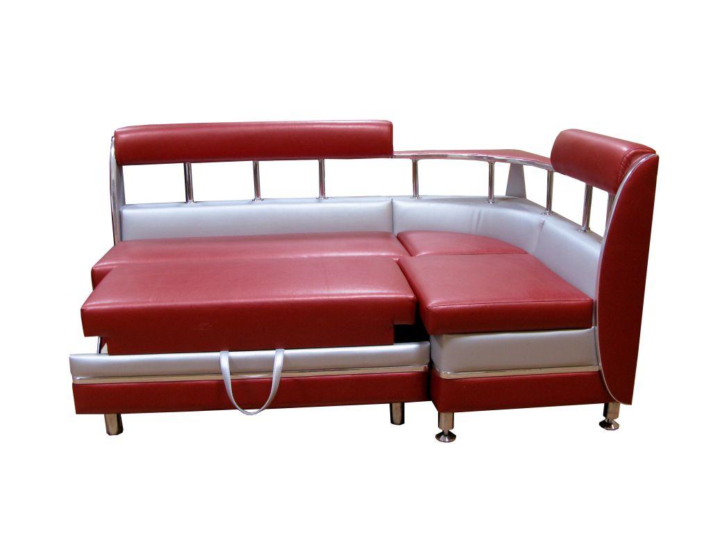 Красный уголок со спальным местом
