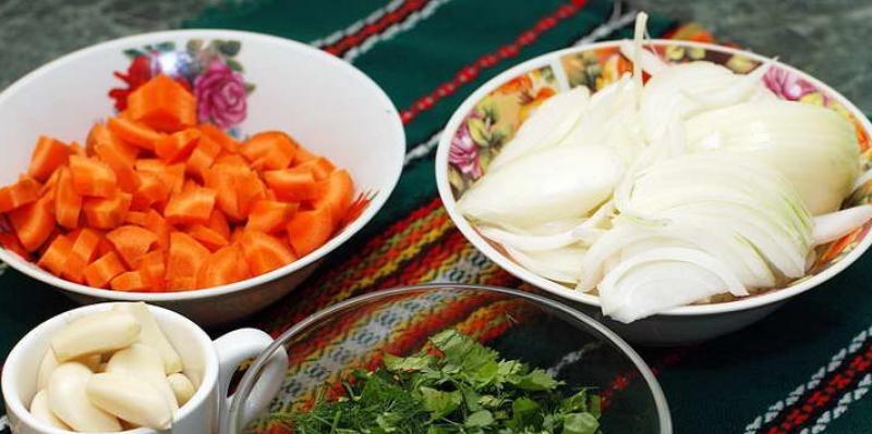 Ингредиенты для супа харчо