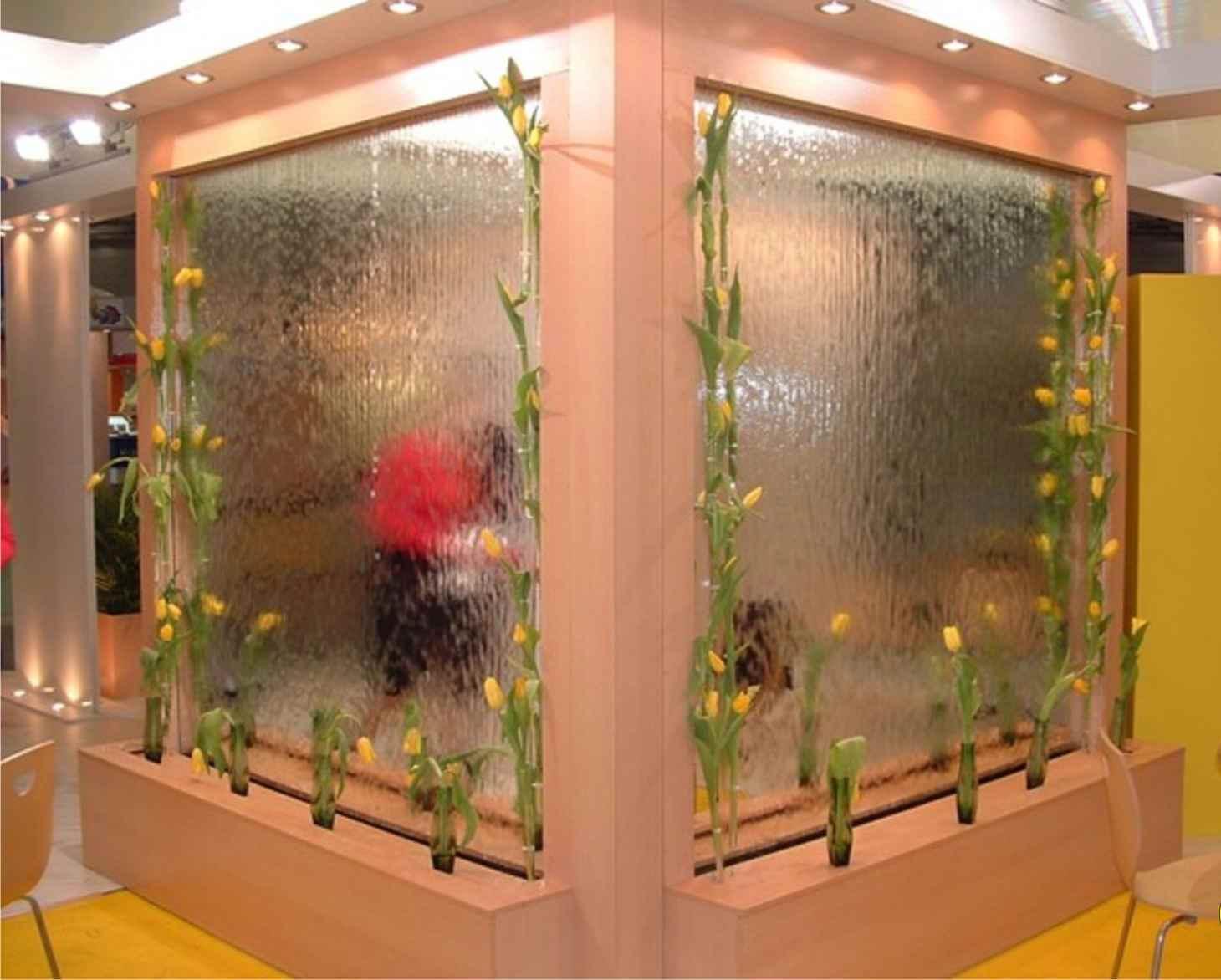 Декоративные фонтаны и водопады в квартире