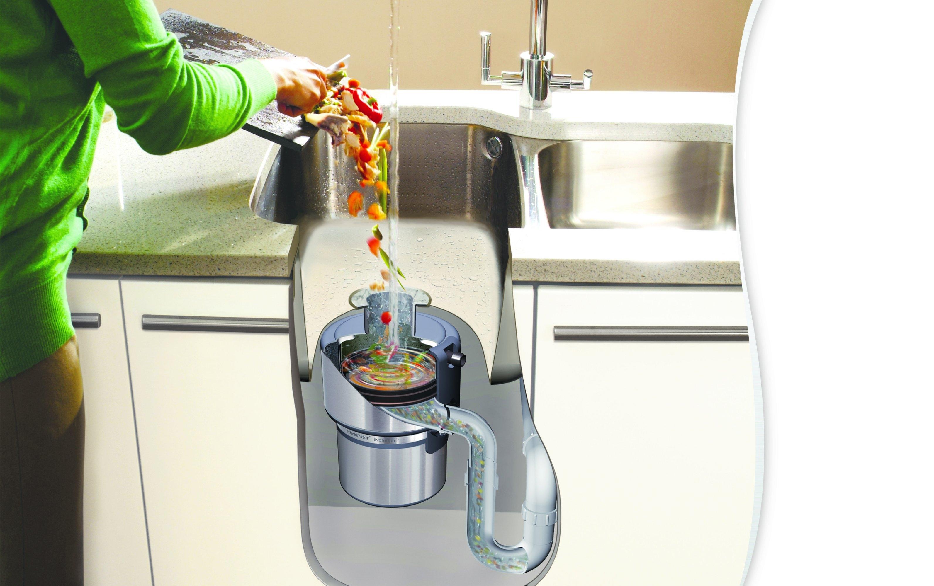Измельчитель пищевых отходов для раковины принцип