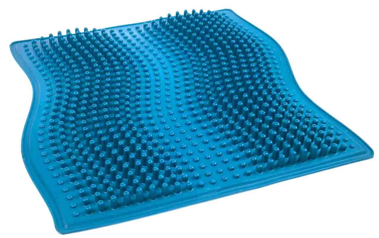 Коврик для ног синий