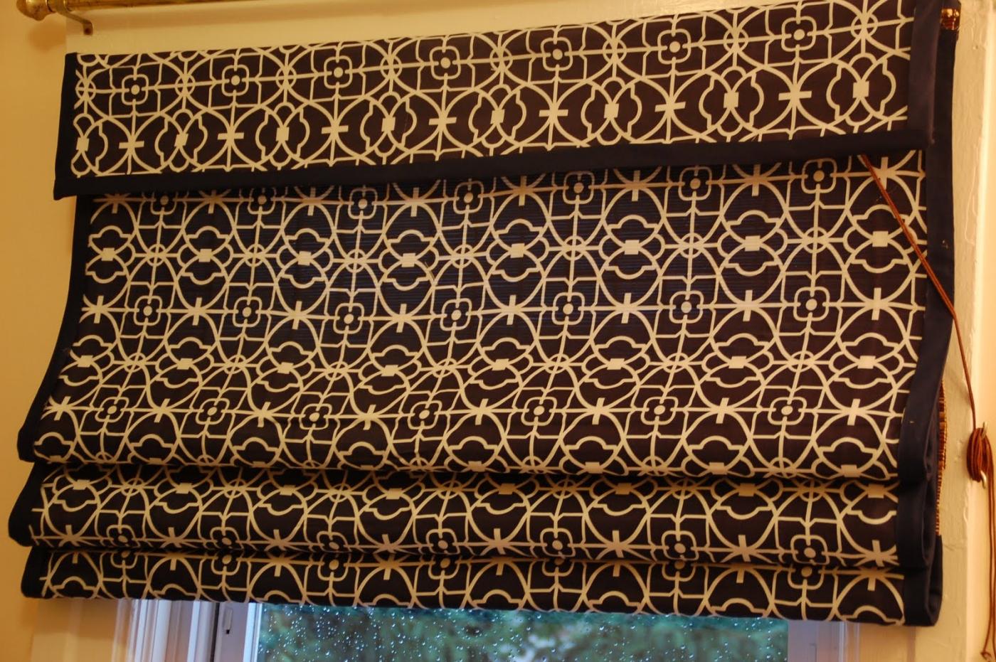 Рулонные шторы своими руками сшить