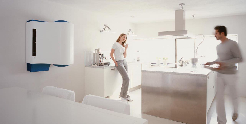 Компактный газовый котел для отопления частного дома