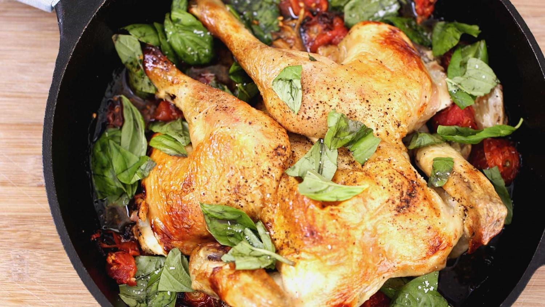 Приготовление блюда из курицы