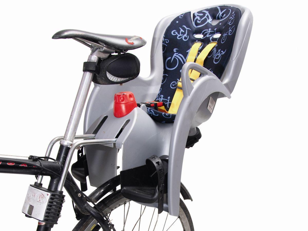 Заднее кресло на велосипед