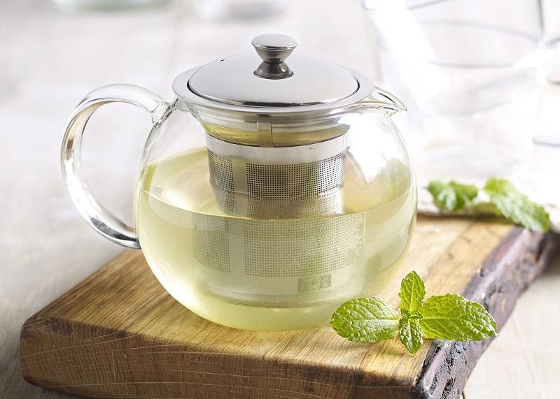 Заварочный чайник из стекла