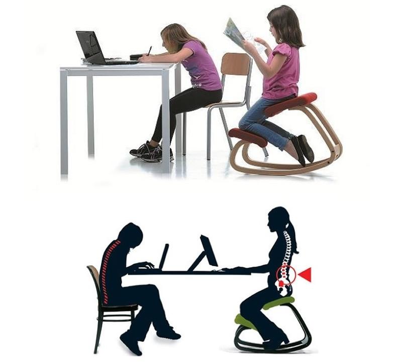 Компьютерное кресло коленное