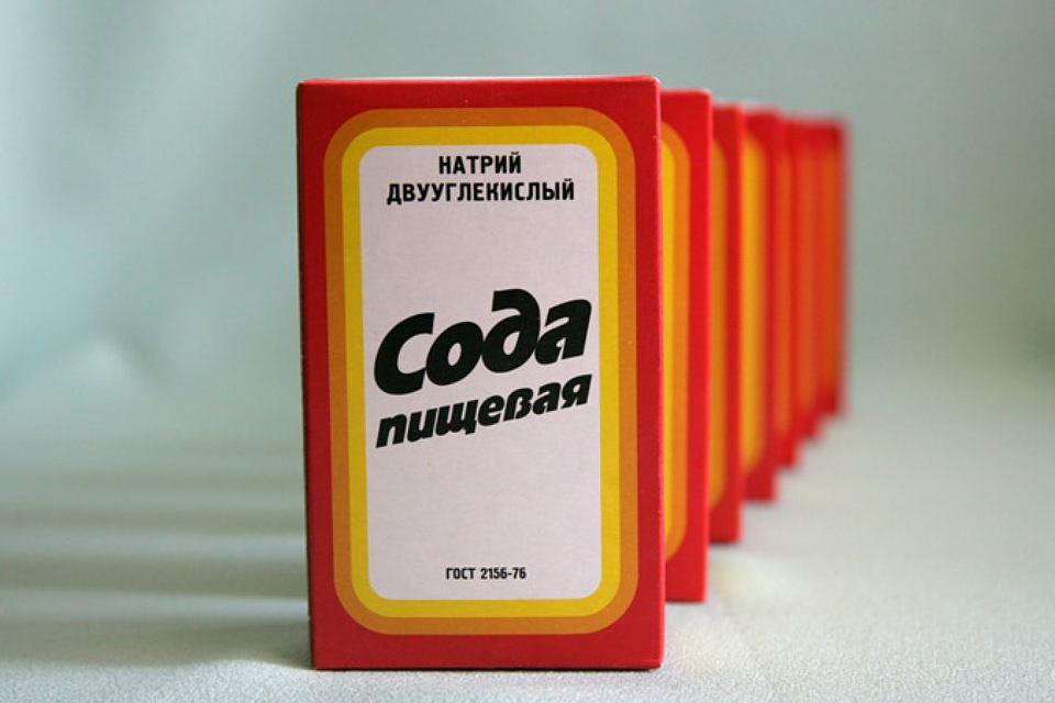 Сода для чистки дугового шкафа с микроволновкой