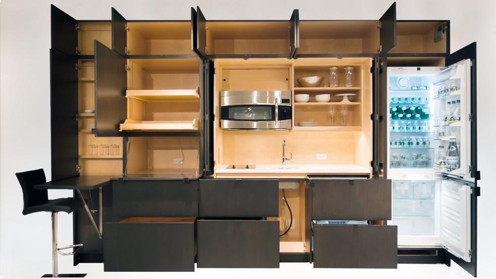 Подъемные механизмы у кухни