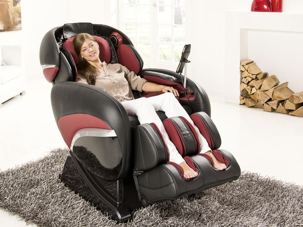 Массажное кресло лежащее
