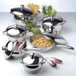 Фото 63: Набор посуды из нержавейки BergHOFF Cosmo