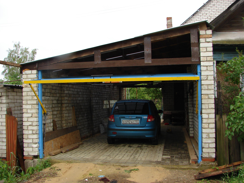 Для гаража и дачи своими руками