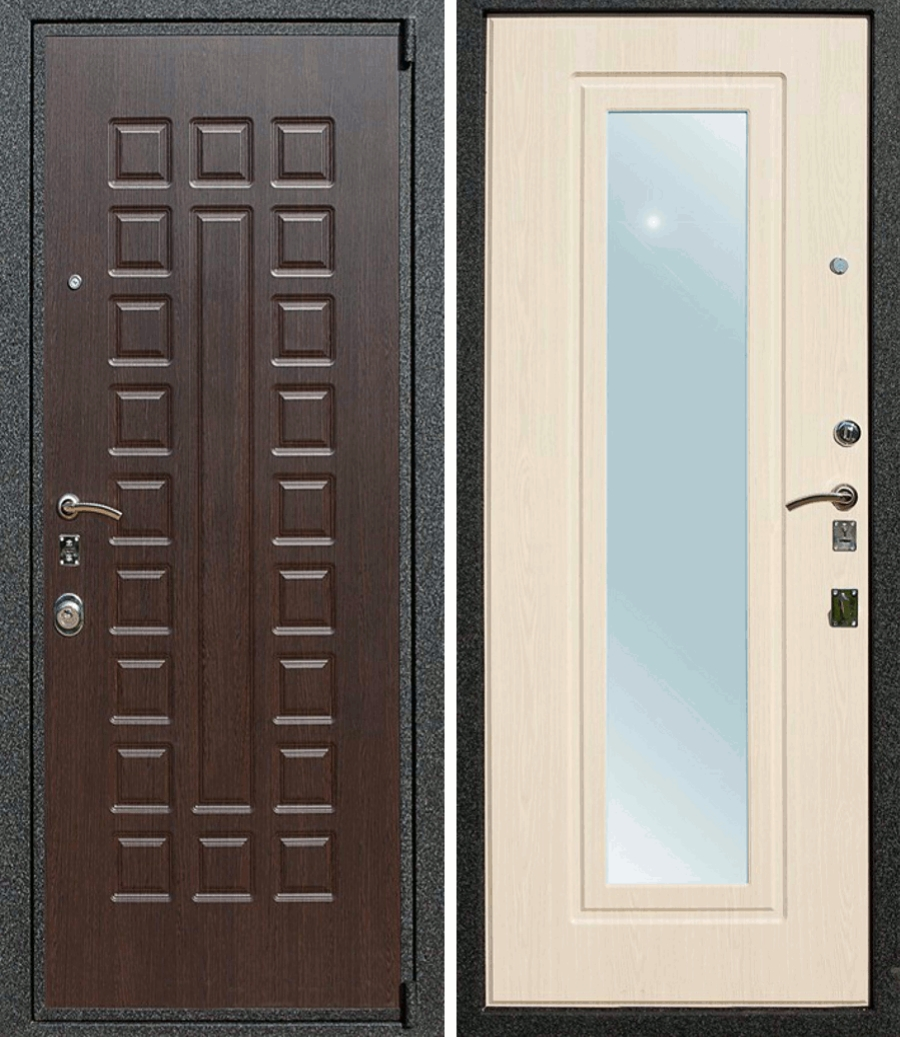 Дверь с зеркалом лекс