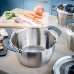 Фото 45: Набор посуды из нержавеющей стали Tefal Ovation