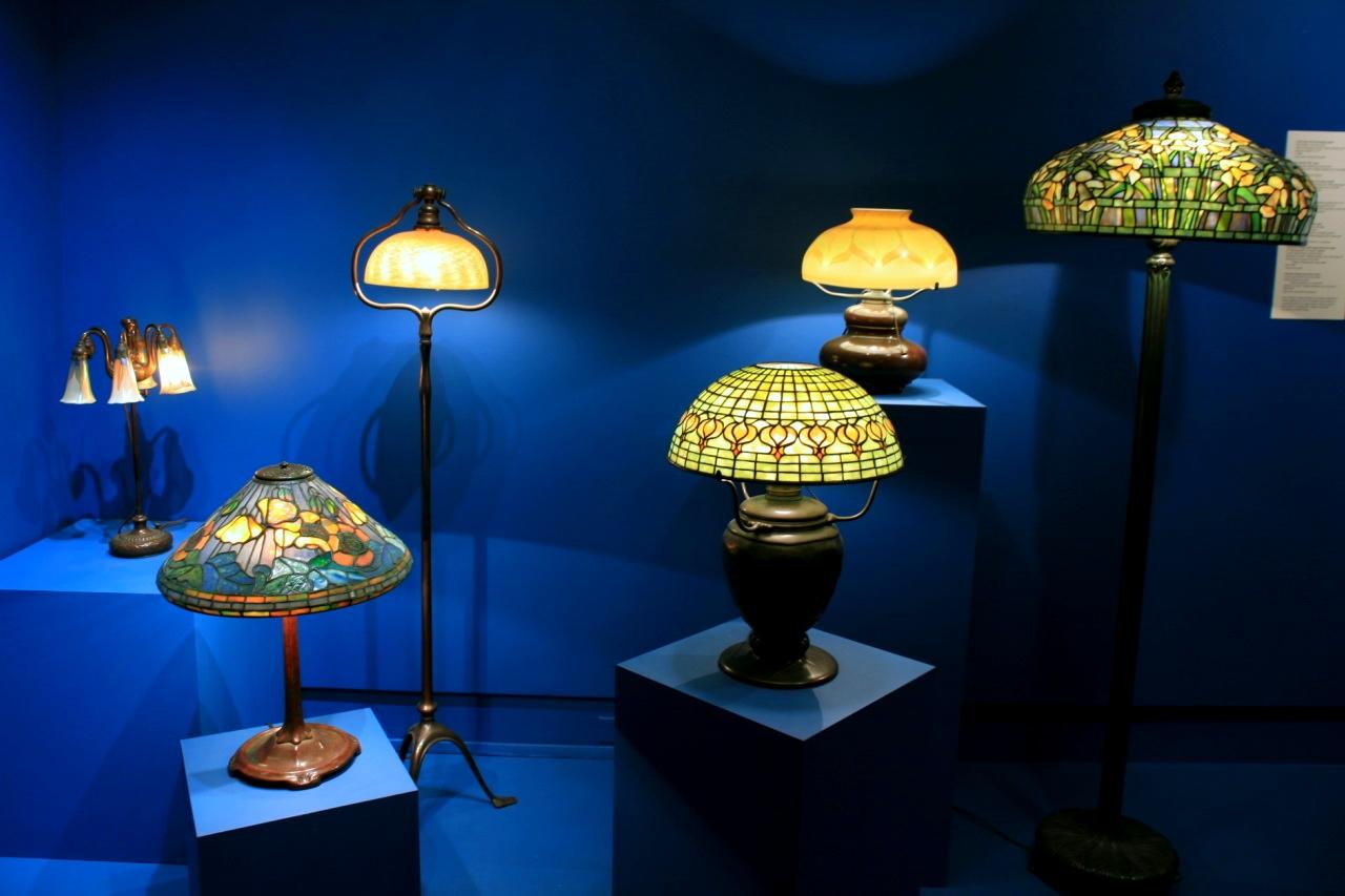 Лампы в технике Тиффани, Музей Марка Твена